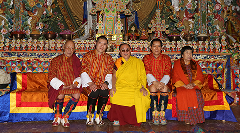His Majesty graces Bajo Lhakhang's consecration ceremony