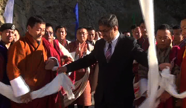 Indian Ambassador inaugurates two bridges-