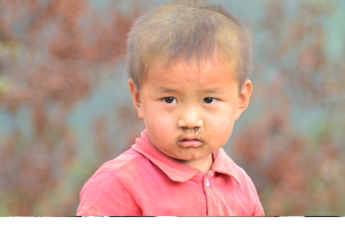 A portrait of innocence (Pic Courtesy: Thrinlay Dorji)