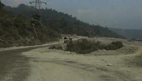 Pling-Manglabari-Road