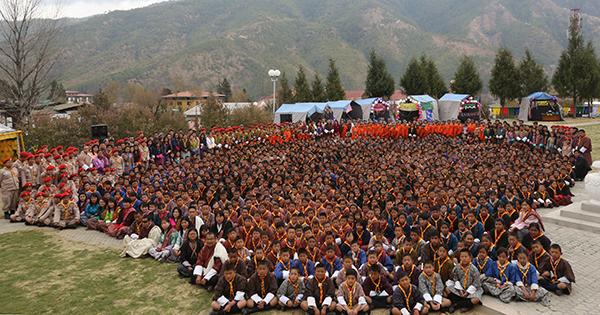 Scouts are custodians of Bhutan's culture, heritage and identity- His Majesty