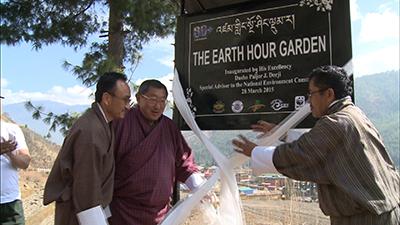 Earth Hour Garden