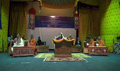 Queen Mother graces international conference in Gaeddu-