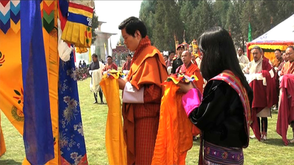 Thegchhog Namdrol Ugyen Choling Shedra  to be upgraded-.
