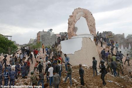 Nepal Quake- 25 April 2015--
