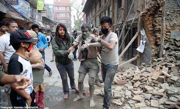 Nepal Quake- 25 April 2015