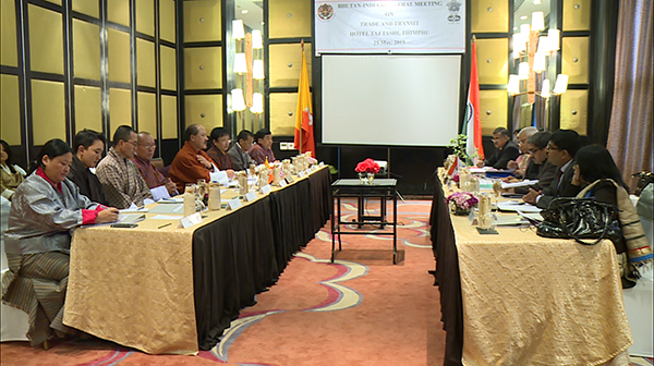 Bhutan and India discuss exit_entry points