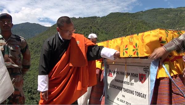 Damchu-Haa-Link-Road-Inauguration-1