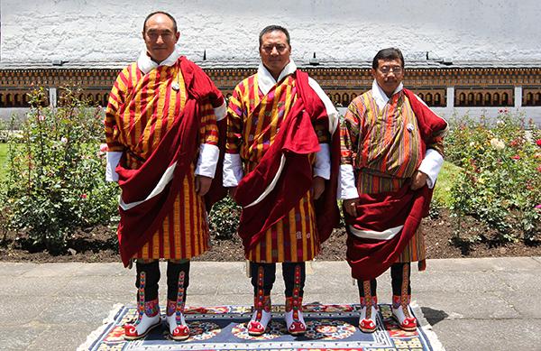 HM appoints Dzongdags