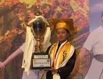 Karma Choki of Samtengang School wins golden youth-