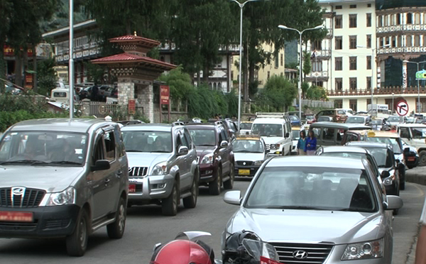 More cars hit Bhutan's roads despite measures to curb import