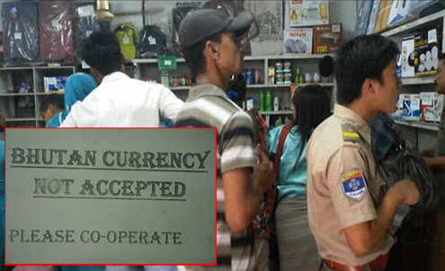 CSD canteen in SJ allegedly refuses Bhutanese currency