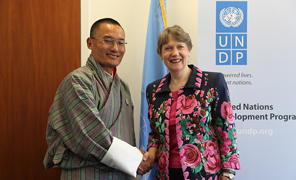 PM with H.E Helen Clark, Administrator UNDP