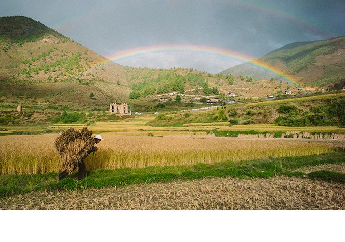 Life is all but a rainbow (Pic: Pawo Choyning Dorji)