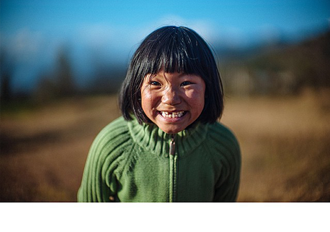 Smile of the seven-year-old yak herder (Pic: Pawo Choyning Dorji)