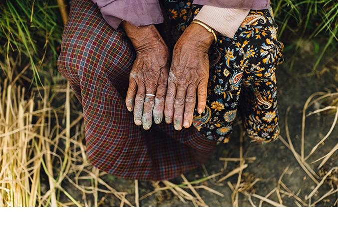 It is harvest time in Bhutan (Pic: Pawo Choyning Dorji)