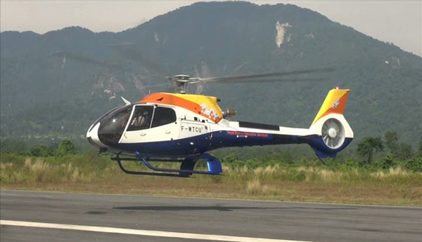 Bhutan gets first chopper