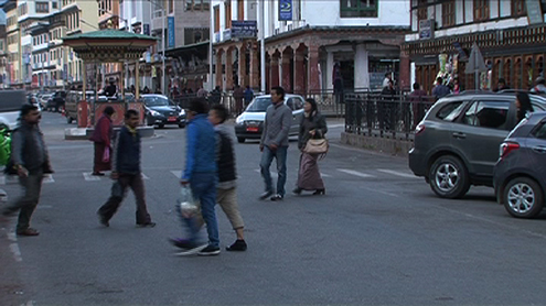 Bhutan scores high in pedestrian safety but is weak in implementing rules