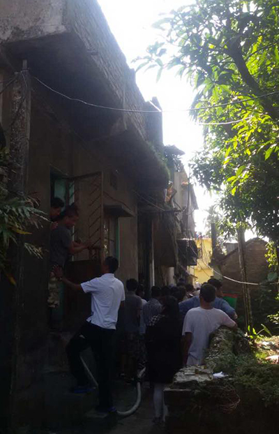Fire claims lives of two girls