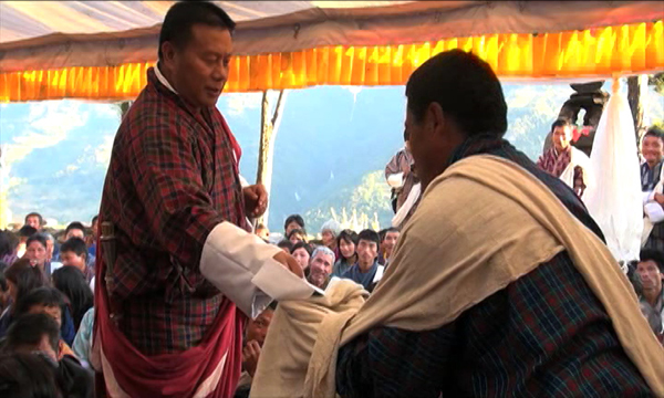 Affected farmers granted Royal kidu--