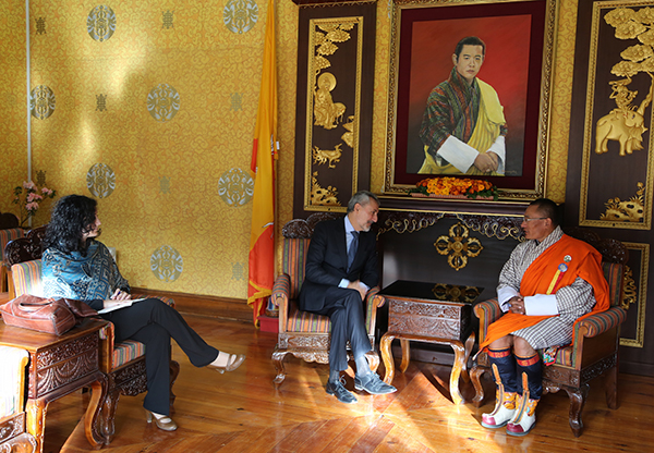 PM meets Ambassador of Italy-