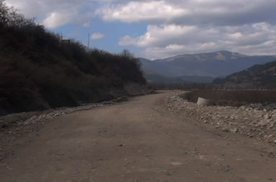 A new bypass road for Chamkhar Town--