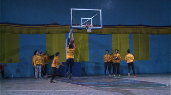 Bhutan's first ever women's basketball team to compete at South Asian games