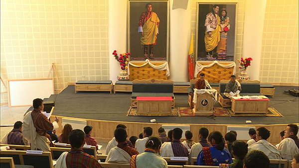 Bhutan Children's Parliament endorsees enrolment age