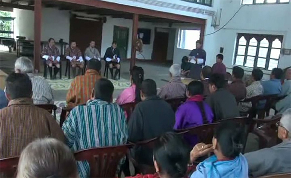Common forum for Gelegphu thompon election held