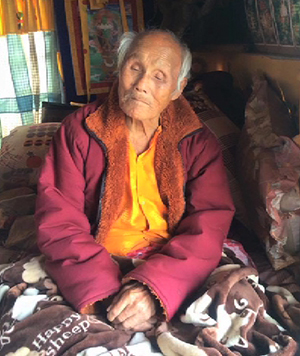 Drujeygang Drubthob, aged 100, dies