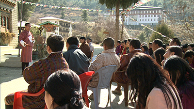 Lone contestant for Thimphu Thrompon post promises another expressway-
