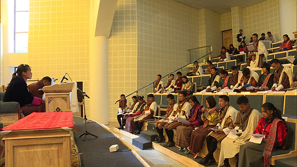 NA of Bhutan Children's Parliament adopts one-teacher one-subject policy