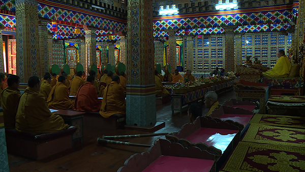Prayer ceremonies for the Gyalsey's birth begins