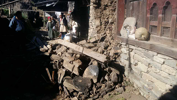 Trashigang reports damages following earthquake