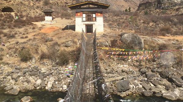 Bridge built by Thangthong Gyalpo needs repair