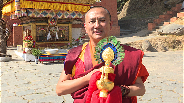 Golden Bumpa offered for The Gyalsey's well-being