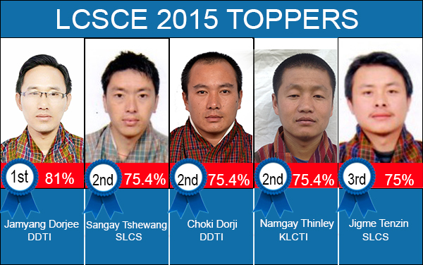 LCSCE 2015 Toppers