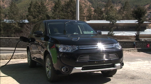New hybrid electric car hits Bhutanese market
