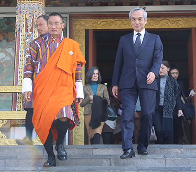 PM meets Japanese Ambassador to Bhutan