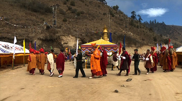 Pelela to get a marble chorten
