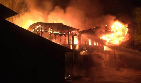 Fire in Paro causes major damages