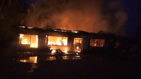 Fire in Samdrup Jongkhar razes a house affecting 11 people-