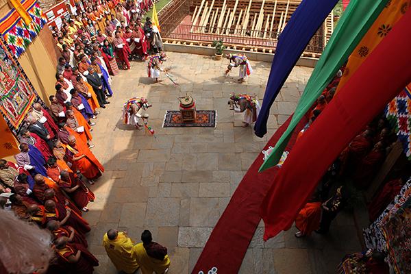 HM-Rabney-of-the-Kuenrey-Wangdue-Dzong-