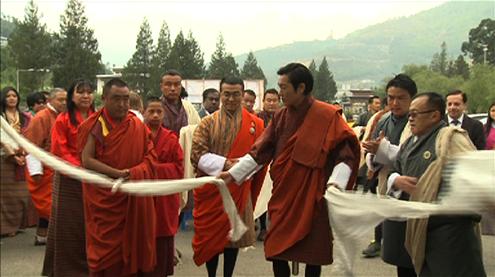 HRH Prince Jigyel Ugyen Wangchuck inaugurates Green Exhibition