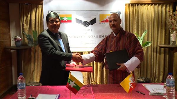 Bhutan-Mynmar-Air Agreement