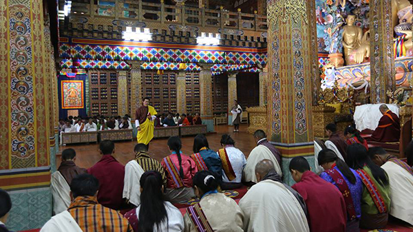 His Majesty grants citizenship Kidu to 163 people