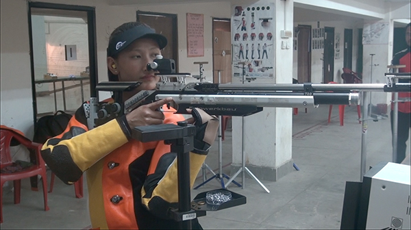 Shooting for Bhutan in Rio 2016 Olympics