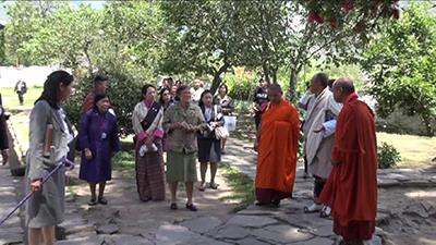 Thai Princess arrives in Bhutan--