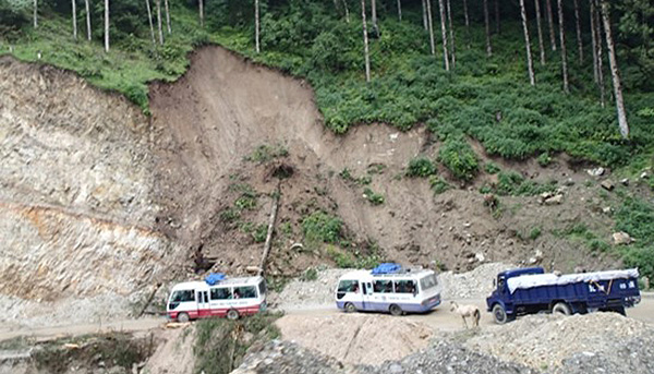 Bhutan still following India's standards to counter road slope disasters