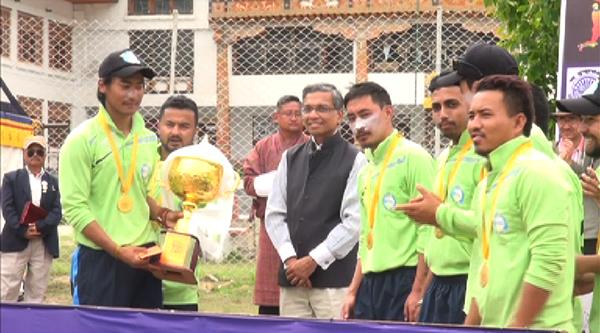 Bhutan tourism wins T20 Cup